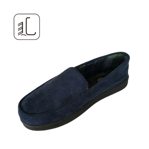 Suede faux leather wholesale shoes new style loafer shoes men