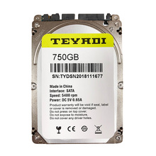 "7mm di spessore 750 gb Internal Hard Disk Drive 2.5 ""Pull HDD per PC/Laptop"