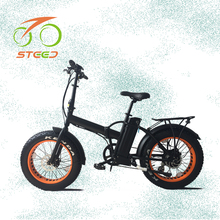 Intelligent brushless controller 48v 500w motor fat tire 20 inch beach cruiser electric bicycle