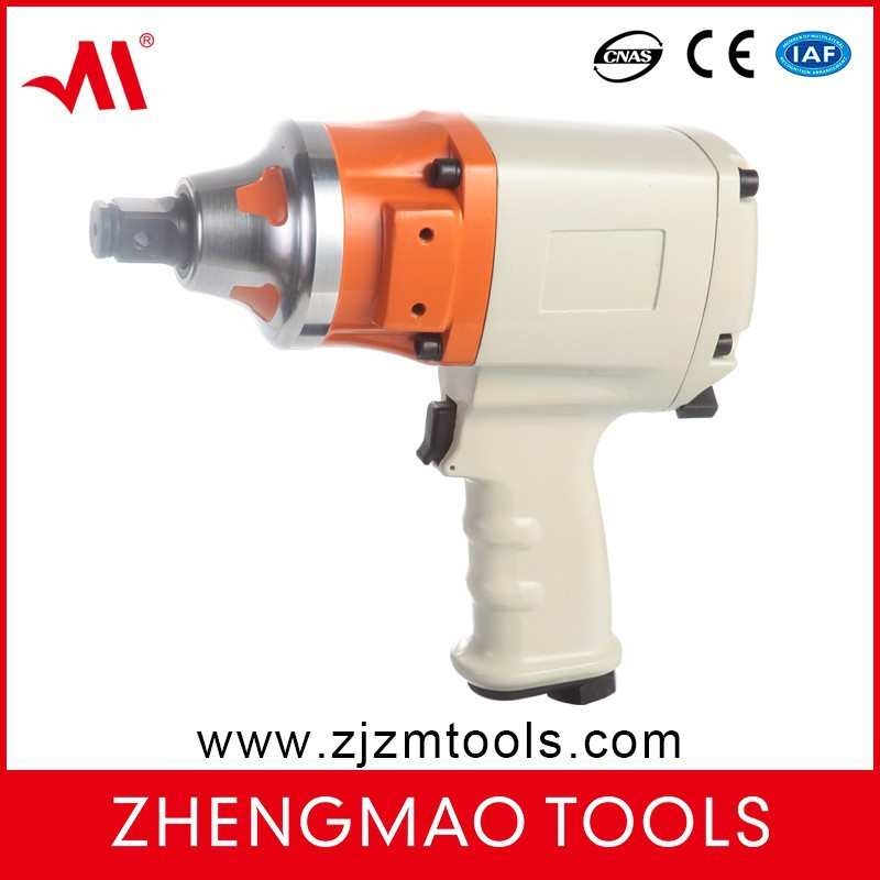 "power pneumatic tools 3/4"" air impact wrench with twin hammer gun type"