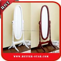 Decorative Mirror Frame, Wooden Frame Stand Mirror, Cheval Mirror