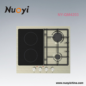 2018 new 4 Burner Stainless steel Gas and Electric Cooktop for Kitchen Hobs