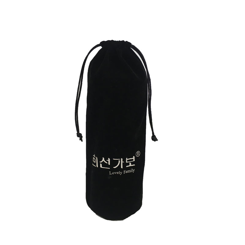 Customized fabric velvet jewelry pouch bag For cup packaging