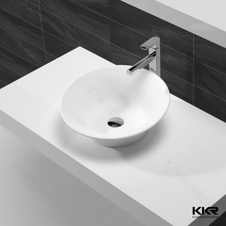 Kingkonree lungo lavandini bagno con due rubinetti, mano medico ...
