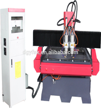 Factory Directly Supply 1325 CNC aluminum machine with pneumatic lamp and for aluminum door and window making with auto tool