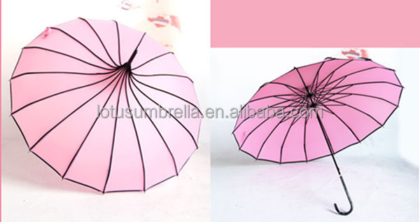 "23""*16k chinese wedding umbrella favors"