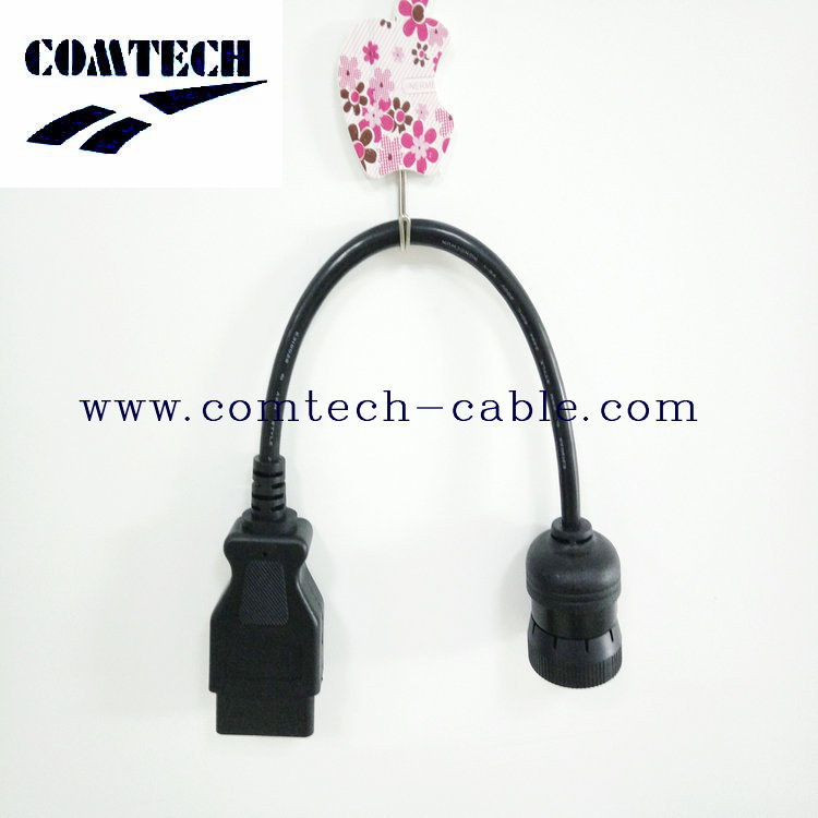 OBD-16P MALE TO Cummins 9 p male cable