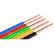 0.5-6.0mm PVC insulated copper core BV electric wire cable for home and office