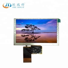 5inch tft lcd touchscreen display module 800 x 480 touch panel