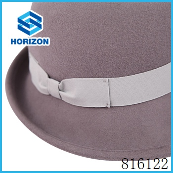 Wholesale bulk beijing horizon wool felt hat factory with lower price wool felt bucket hat