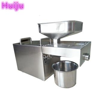 Hot press stainless steel peanut oil press HJ-P07 for home use in Guadeloupe