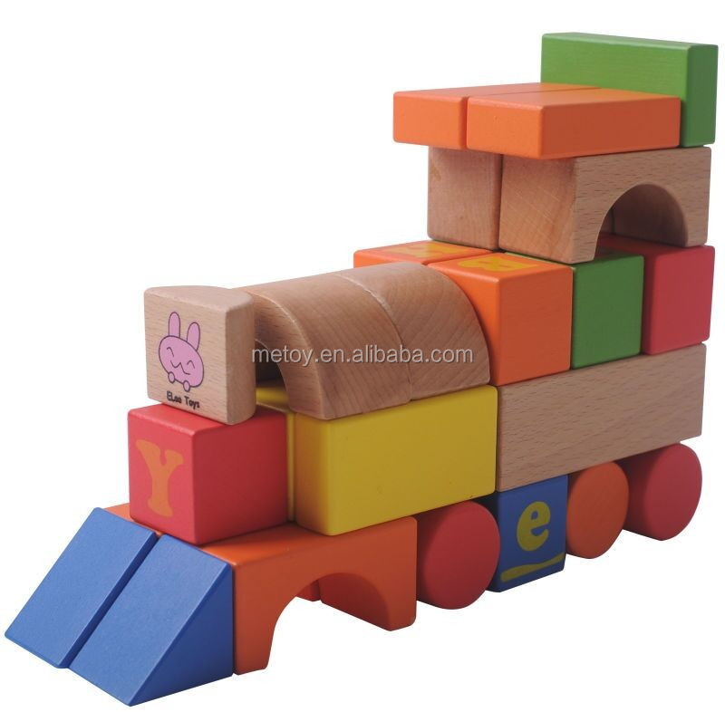 Stock sale Kids toy traditional building wooden block