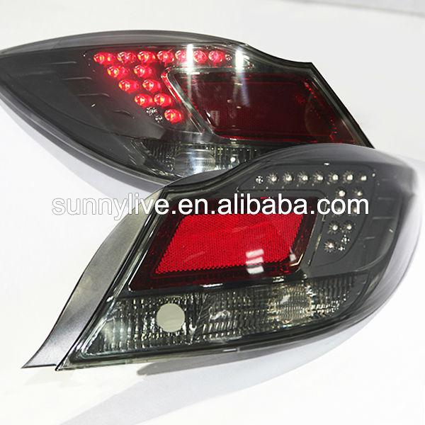 Led Tail Lamp Rear Lights For Gm Buick Regal Verano Opel Insignia 09 13 Year Db Smoke Black