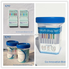 drug abuse testing cup 10 parameter urinalysis strip tests in a card dipstick