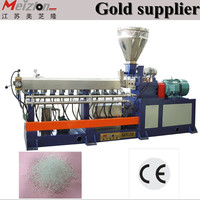 twin/double screw extruder manufacturer/cable making equipment sale/pellet making machine