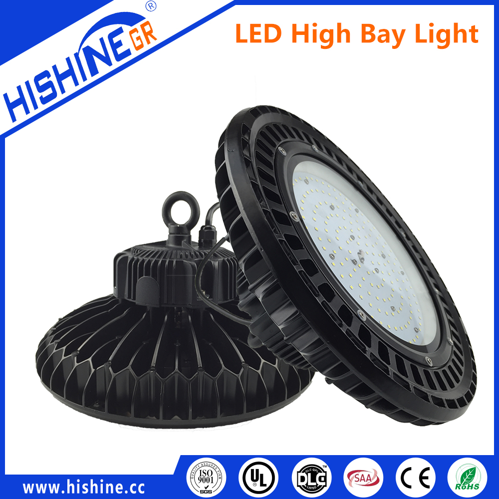 2016 distinctive design waterproof IP65 Grade CE UL round crown industrial high bay led lighting