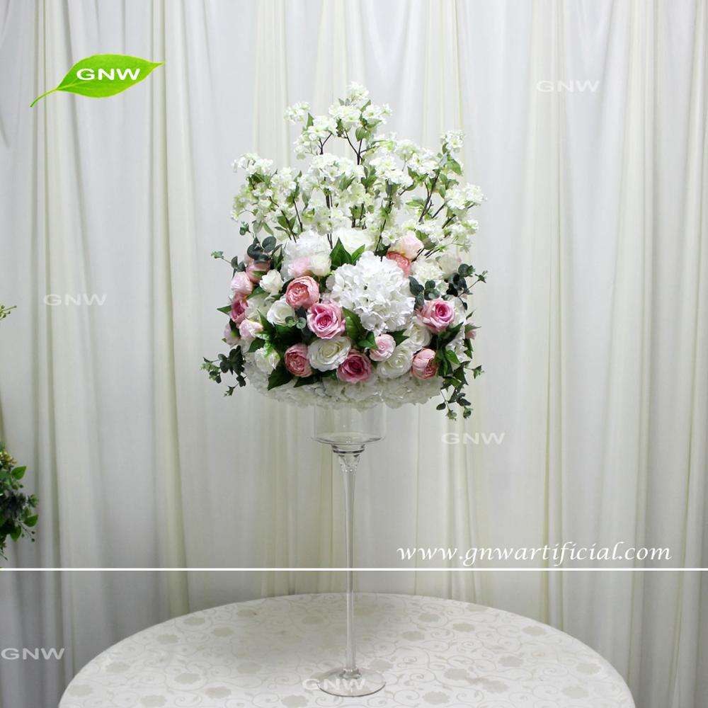 Gnw Ctr161110-1 Artificial Calla Lily And Gypsophila Flowers For ...