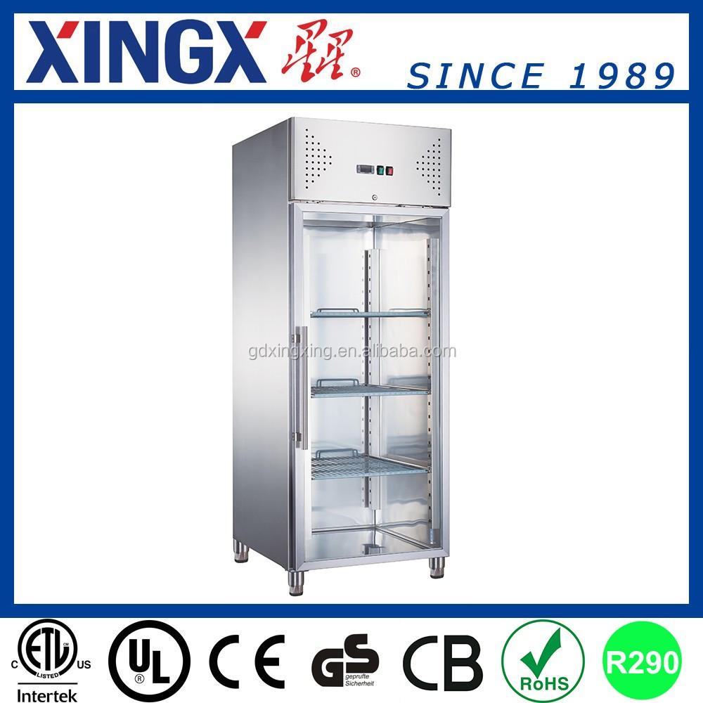 Transparent Glass Door Freezer Used For Salegx Gn650btg Buy