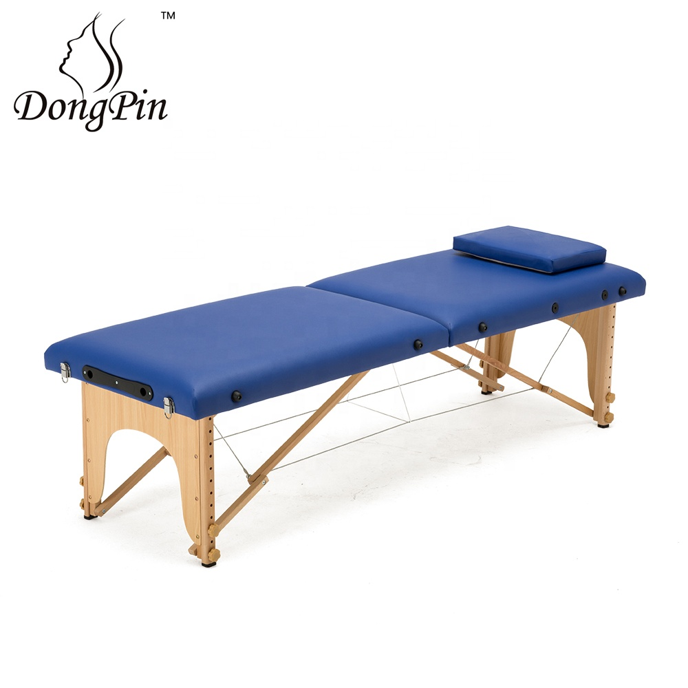 massage Table Specific Use and Folded Chiropractic Massage Bed