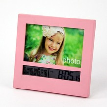 Unionpromo custom multifunzionale orologio photo frame per il commercio all'ingrosso