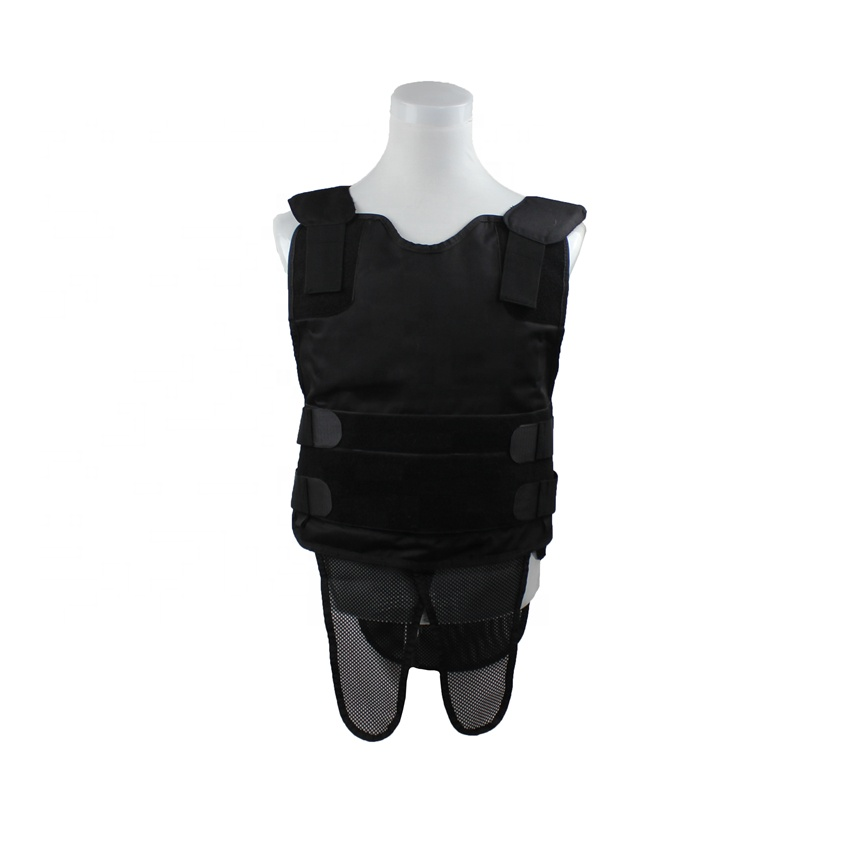 NIJ IIIA Standard tactical bullet proof vest soft UHMWPE panel