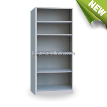 Library Bookcase With Open Shelf School Corner Steel Furniture Filing Cabinet