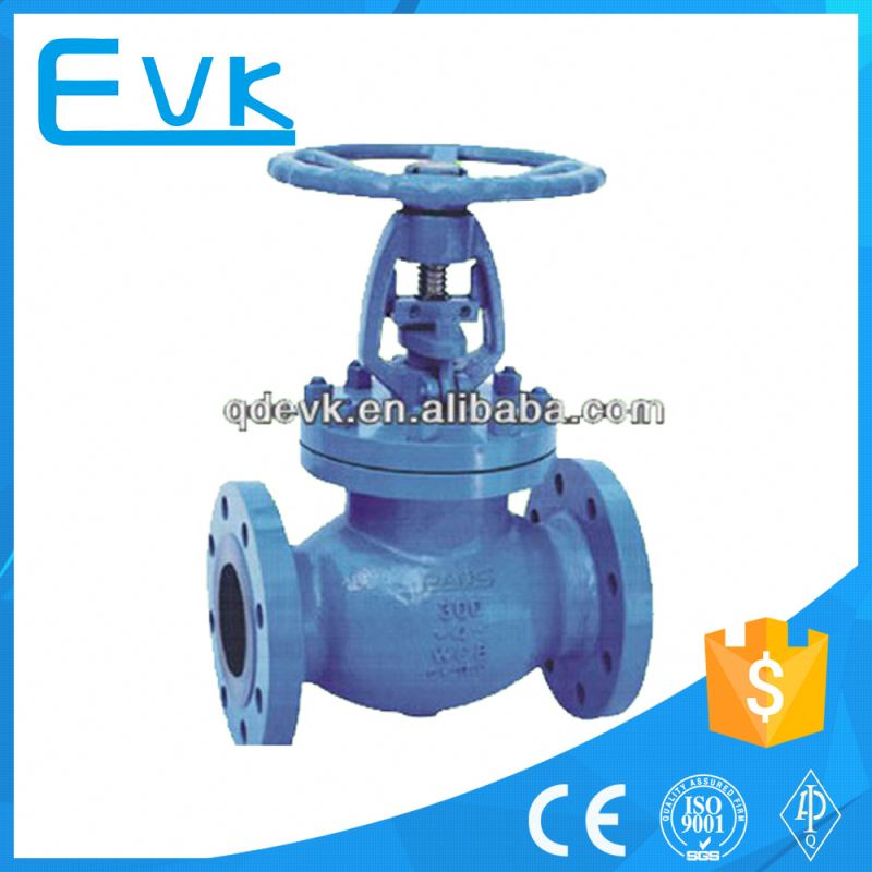 forged spring loaded globe valve pn100