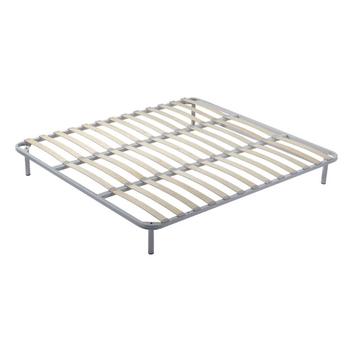 Classic Brand Platform Mattress Foundation Bed Base Metal Slatted ...