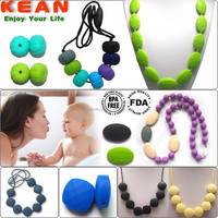 Natural silicone pearl necklace diamond jewelry and fashion women pendant