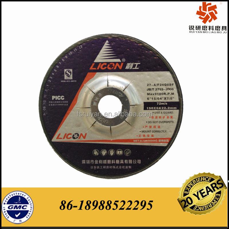 En12413 Abrasive Grinding Wheel Supplier