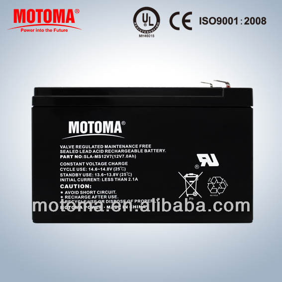 rechargeable ups sealed lead acid battery