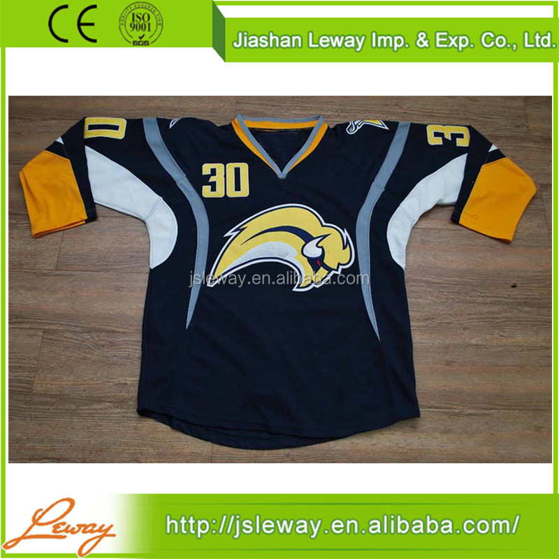 Buffalo Sabres team ice hockey jersey design maker online china supplier