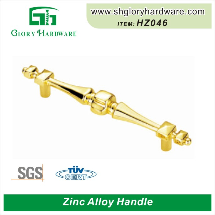 Luxury Gold Crystal Cabinet Handles