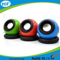 Factory Supply USB 2.0 System Power pc Speakers Portable Laptop Magic Ball Mini Speaker Wholesale