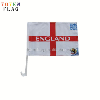 Custom Cheap England Polyester National Car Flags