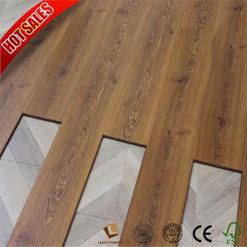 Slip Resistant Fiba Approved 7mm Laminate Wood Flooring