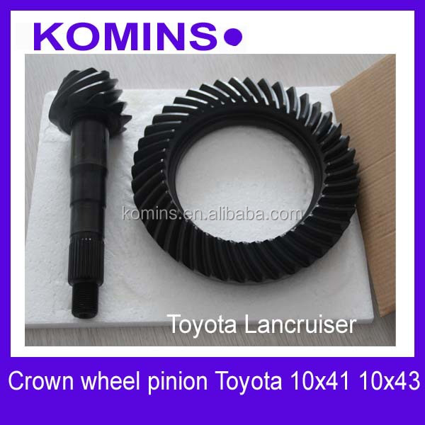 41201-80204 41201-80203 41201-80493 10X41 toyota Landcruiser Crown wheel and pinion