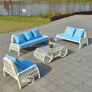 Bali Home Garden Taobao Sofa Pe Rattan Cafe Set Outdoor Furniture Use With Waterproof