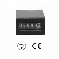 6 digit mechanical counter game coin pulse counter 24v