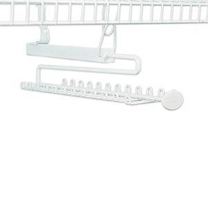 Get Quotations · ClosetMaid Sliding Tie And Belt Rack