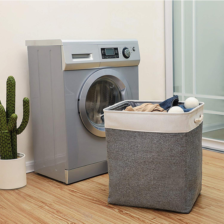 Durable Large Capacity Dirty Clothes Hamper Baskets Bin Laundry Bags With Handle