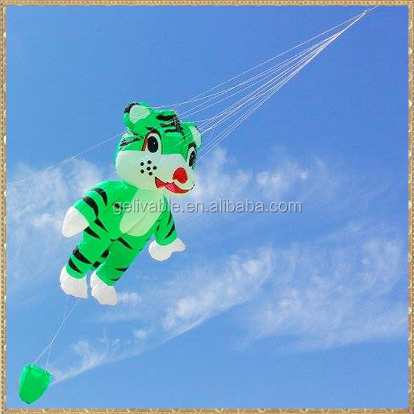 chinese nylon flying tiger 3d inflatable kite for sale