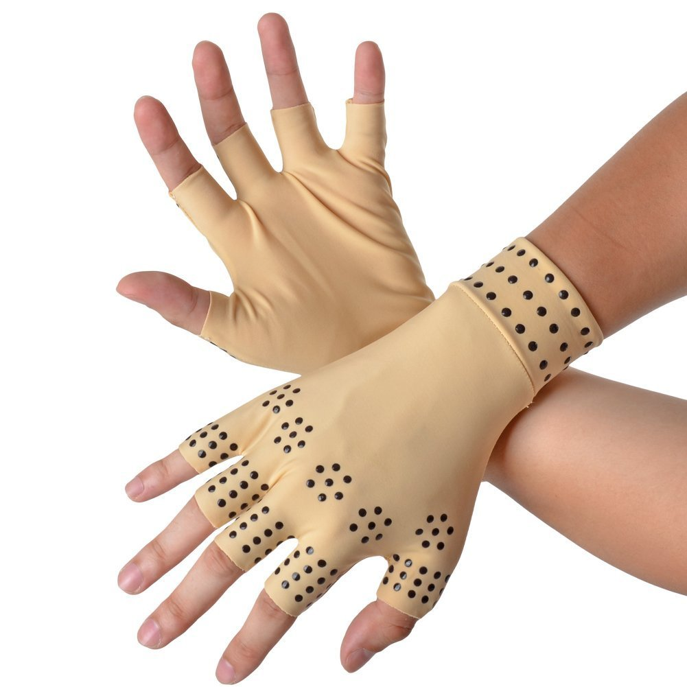 2020 new magnetic therapy arthritis gloves for garden pruning/typing/running
