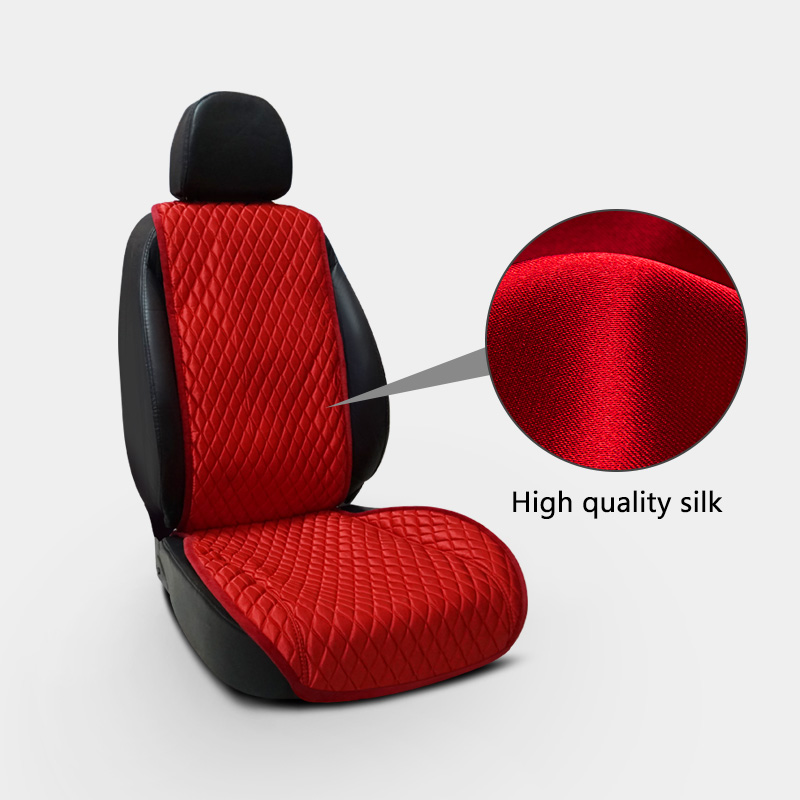 Canada Factory price fordable waterproof portable nonslip ice silk car seat covers