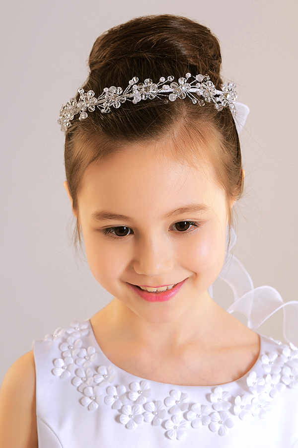 F1095The new  handmade lilies seam bead wedding headpiece