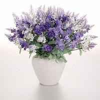 wholesale silk artificial flowers lavender
