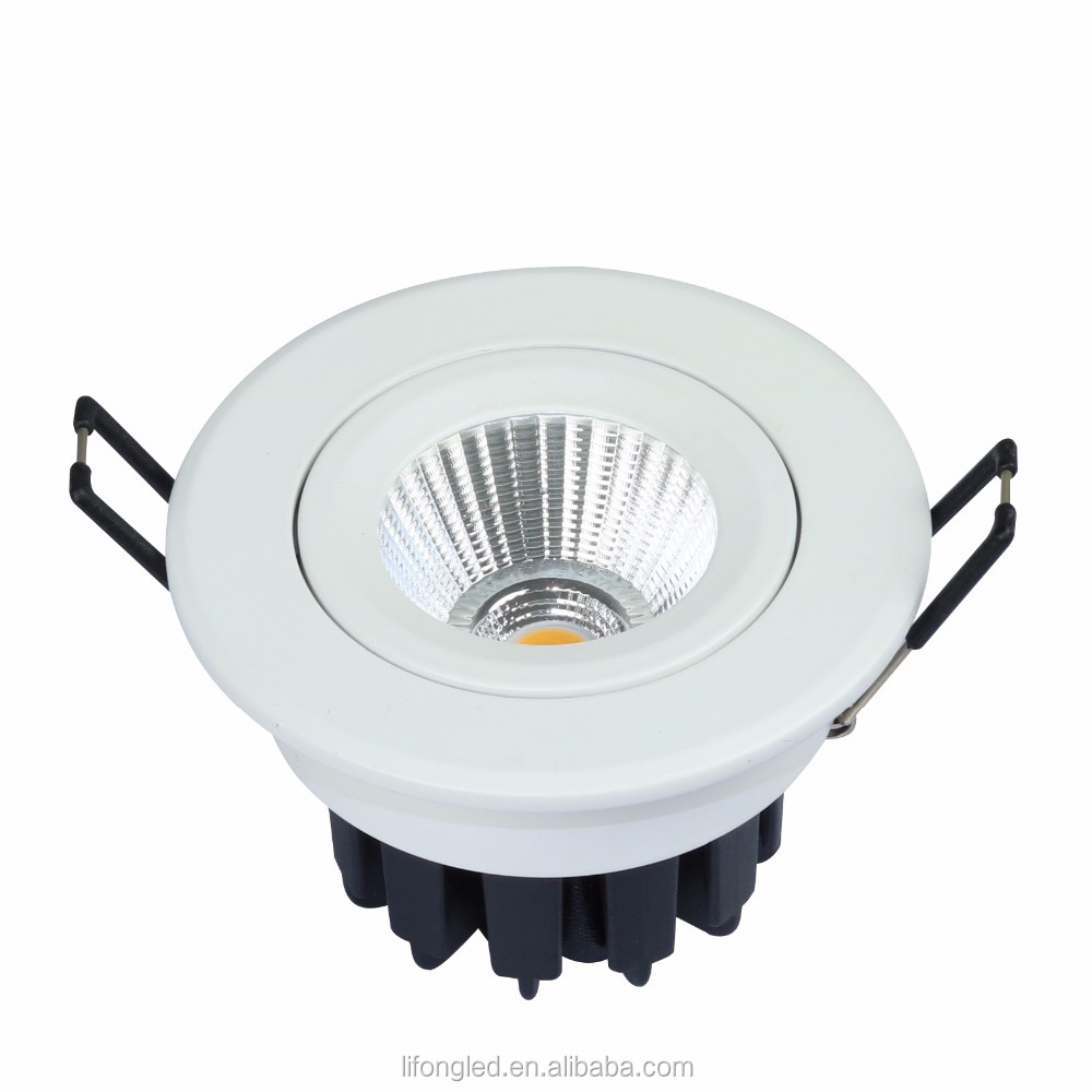 light fixture of ceiling 38 degree 7w LED COB Ceiling <strong>Downlight</strong>