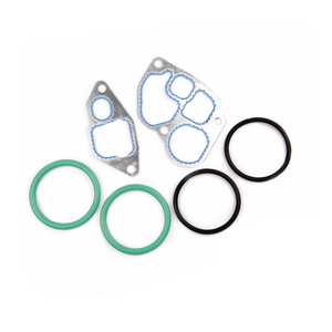 F4TZ-6A636-A for ford 6.0 oil cooler gasket Oil Cooler O ring F4TZ6A636A amp Gasket Kit 94 5 03 for Ford E-350 OEM F4TZ-6A636-A