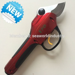 Professional electric pruning shear, ratchet pruning shears, aluminium pruning shears