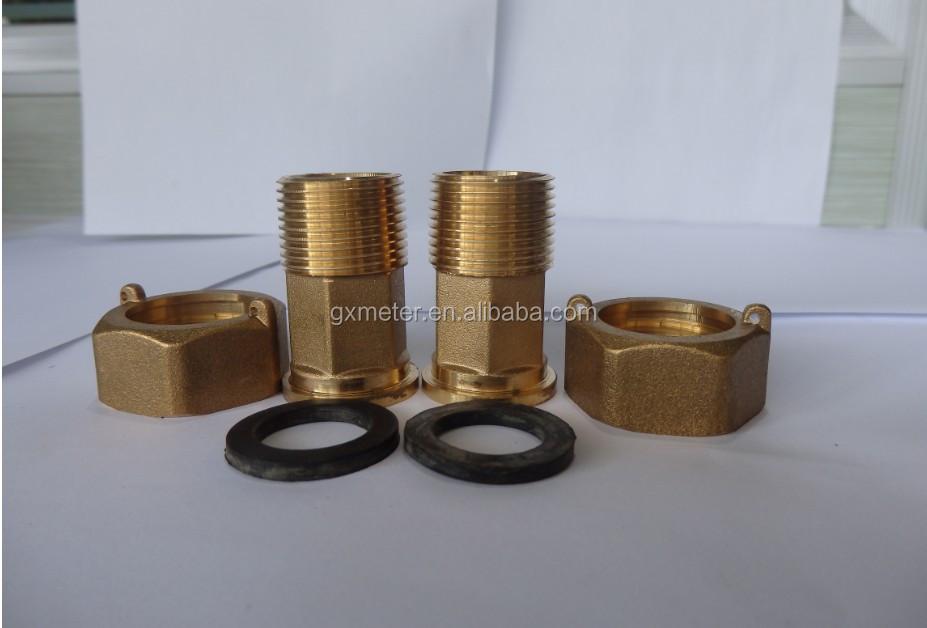 Water meter brass fittings buy meters coupings